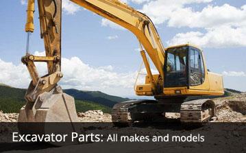 Excavator parts sales service