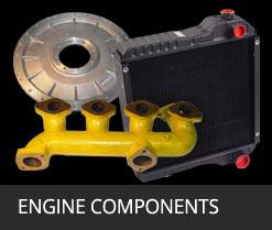 heavy construction equipment engine components