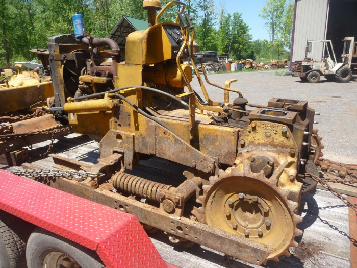 Used John Deere 1010 Dozer Salvage Parts