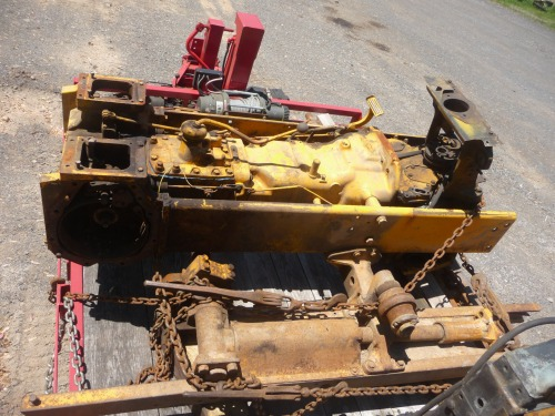 John Deere 350B Salvage Parts