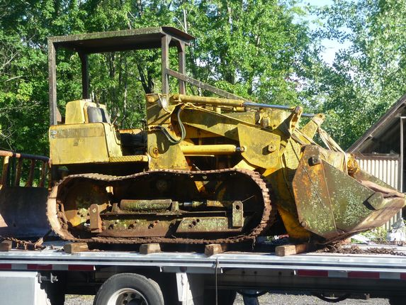 Used International 500e Crawler Construction Salvage Parts