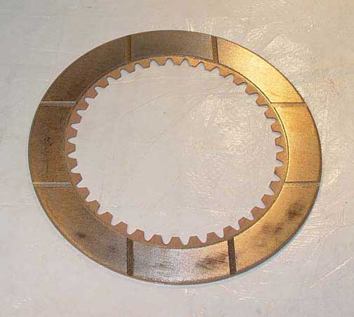 T44129 John Deere 450 bronze steering clutch disc