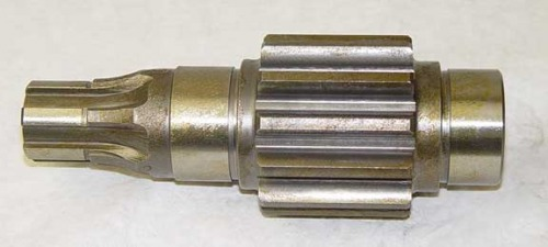 11832 Case 310 350 350B pinion gear 6 spline