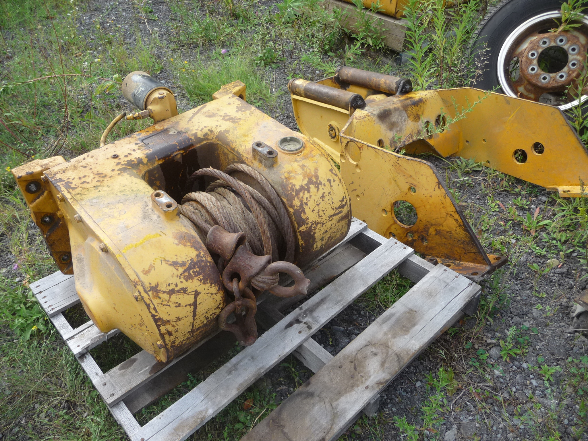 Used John Deere 450 Salvage Parts