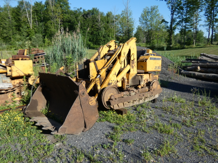 John Deere 350 Salvage Parts